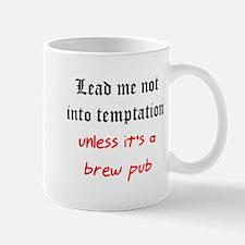 temptation brew pub Mug