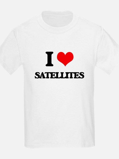 I Love Satellites T-Shirt