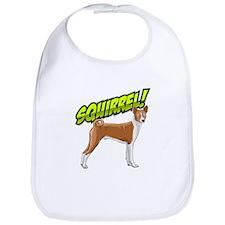 Squirrel! - Basenji Bib