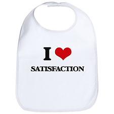 I Love Satisfaction Bib