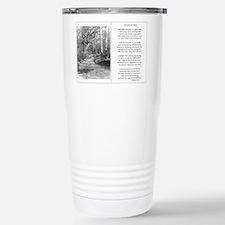 Unique White fence Travel Mug