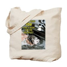 Bath For The Holidays - Tote Bag