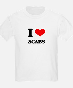 I Love Scabs T-Shirt