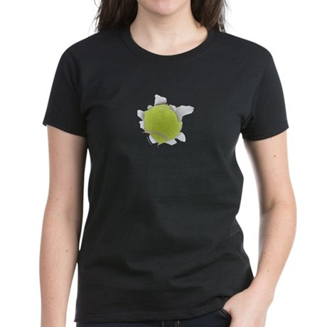 Tennis Burster Women's Dark T-Shirt