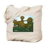 Golden Polish Chickens Tote Bag