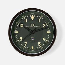V-8 Lancaster Bomber Wall Clock