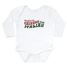 Cute 1 2 italian Long Sleeve Infant Bodysuit