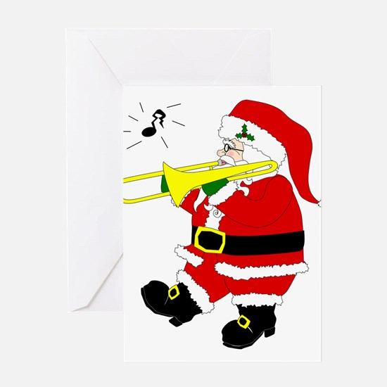 Unique Funny santa claus Greeting Card