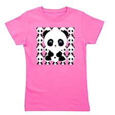 Funny Panda bear Girl's Tee