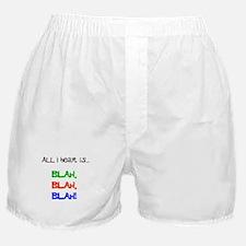 Blah, Blah, Blah Boxer Shorts