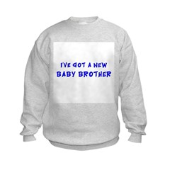 Baby brother/kitten Sweatshirt