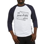 In Medias Res (Latin) Baseball Jersey