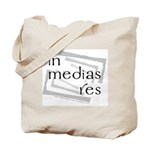 In Medias Res (Latin) Tote Bag