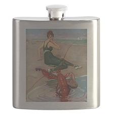 Lobster Serenade Flask