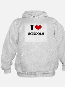 I Love Schools Hoodie