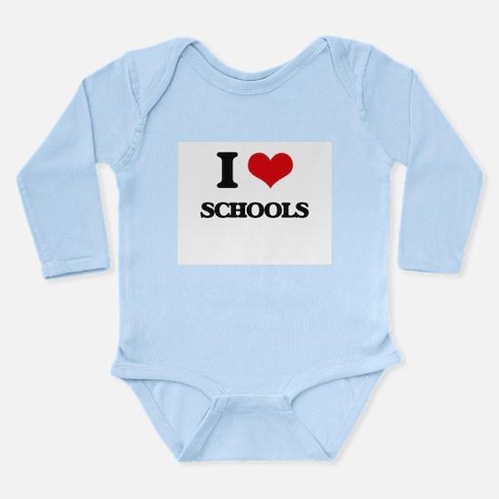I Love Schools Body Suit