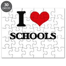 I Love Schools Puzzle