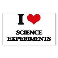 I Love Science Experiments Decal