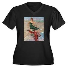 Lobster Serenade Plus Size T-Shirt