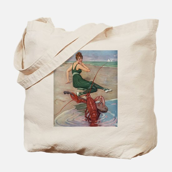 Lobster Serenade Tote Bag