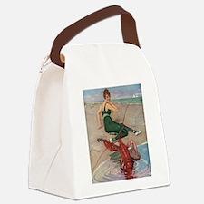 Lobster Serenade Canvas Lunch Bag