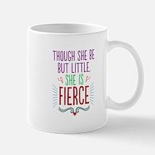 Though She Be But Little Mugs