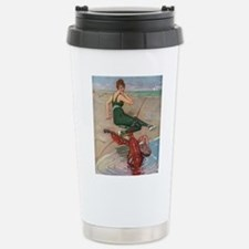 Lobster Serenade Stainless Steel Travel Mug