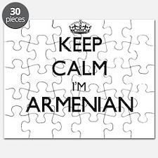 Keep Calm I'm Armenian Puzzle