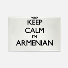 Keep Calm I'm Armenian Magnets