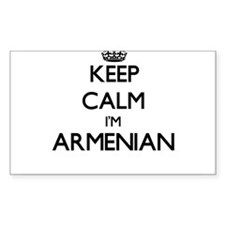 Keep Calm I'm Armenian Decal