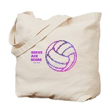 Unique Volley ball Tote Bag