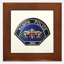 Nampa Police Framed Tile
