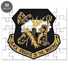 USAF Patch USAFE 4133 Bomb Wing P Black Bar Puzzle