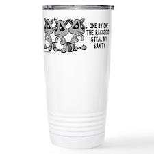 Cute Raccoon Travel Mug