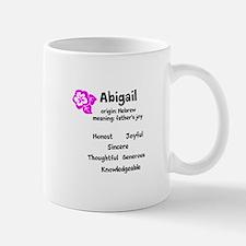 Abigail name design Mugs