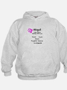 Abigail name design Hoodie