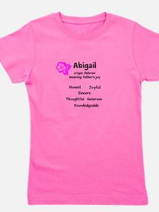 Abigail name design Girl's Tee