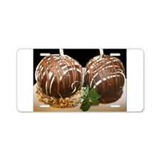 candied apples Aluminum License Plate