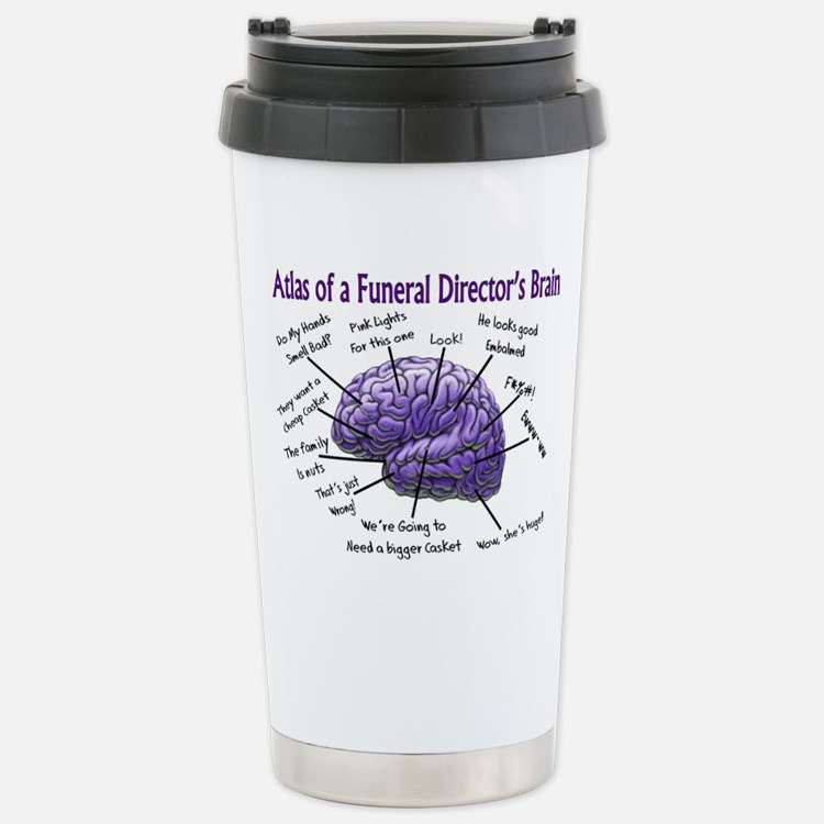 Cute Mortician Travel Mug