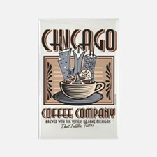 Chicago Coffee Co Rectangle Magnet