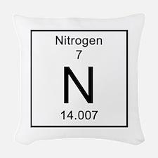 7. Nitrogen Woven Throw Pillow