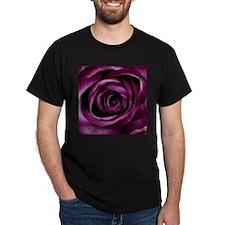 Purple Pink Rose Bloom T-Shirt