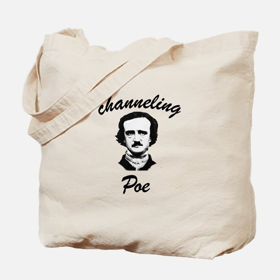 Channeling Poe Tote Bag