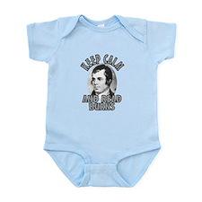 Keep Calm with Robert Burns Infant Bodysuit