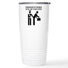 Cute Prosecutor Travel Mug