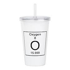 8. Oxygen Acrylic Double-wall Tumbler