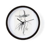 Pawnee Sheriff Wall Clock