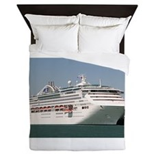 Dawn Princess Cruise Ship Queen Duvet