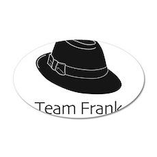 Team Frank Wall Decal