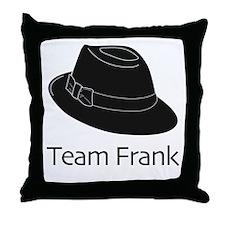 Team Frank Throw Pillow
